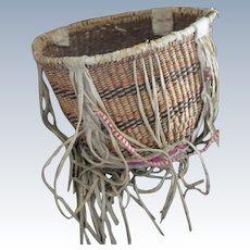 Western Apache Burden Basket (White Mountain) Circa 1920