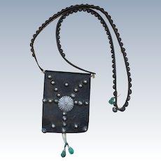 1880's Navajo Man's Bandolier Bag
