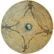 1920's Pima Figual Basket With Button