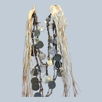 Western Apache Warriors Necklace 1880's