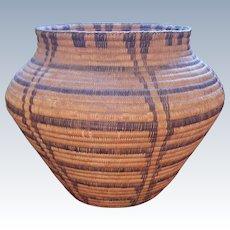 Huge Early Pima Olla Basket