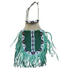 Lakota Woman's Beaded Belt Bag