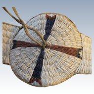 Lakota Beaded Blanket Strip 1870's