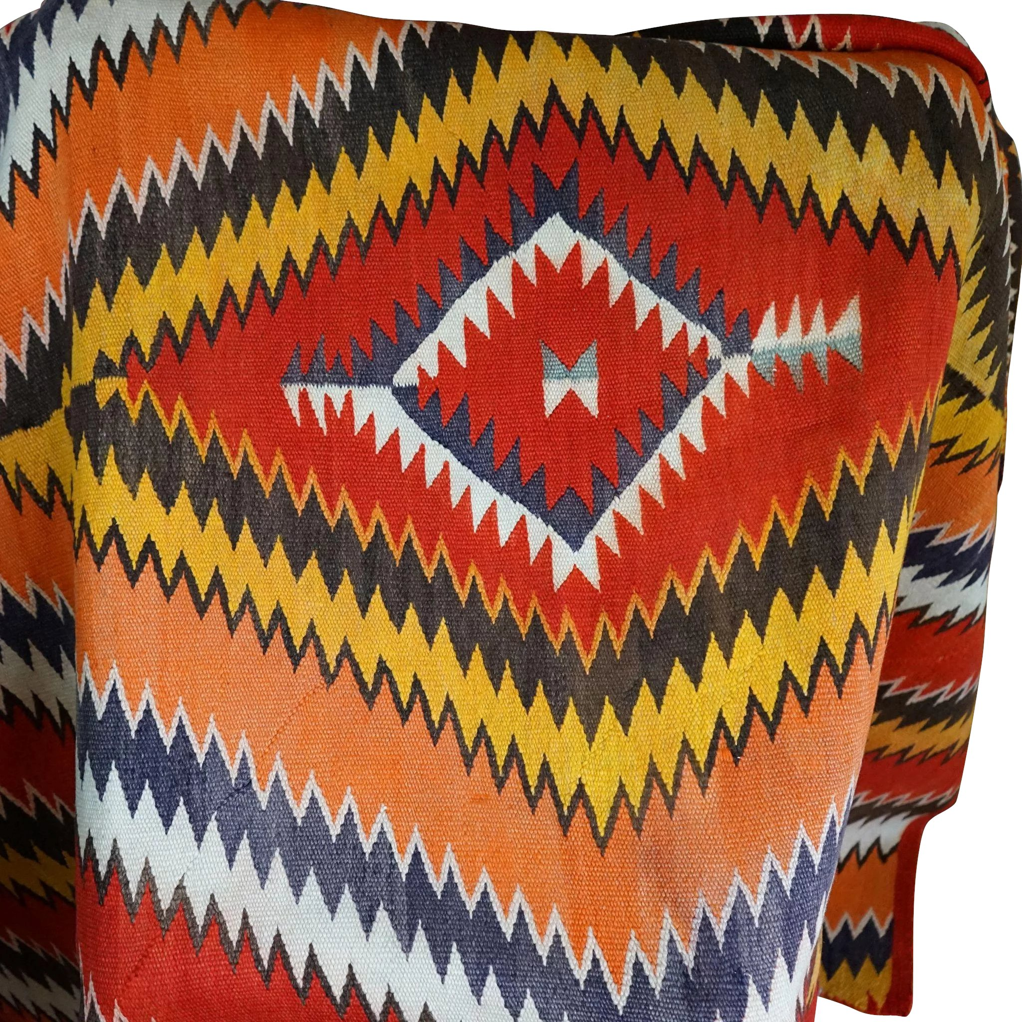 1880\'s Navajo Serape Transitional Blanket : Uchizono Gallery LLC ...
