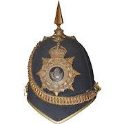 1901 Boer War Oxfordshire Infantry Officers Shako
