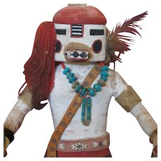 1940's Hopi Kachina Carving of a Navajo