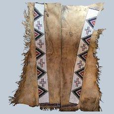 1880's Jicarilla Apache Leggings