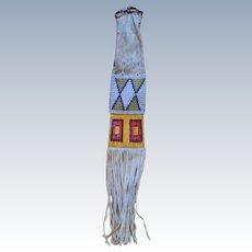1870's Lakota Sioux Indian War Period Pipe Bag