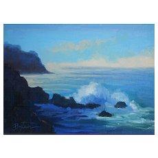 Seascape Painting By LPAPA Signature Member Cynthia Britain