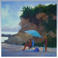 Laguna Beach Seascape Painting By LPAPA Signature Member Cynthia Britain