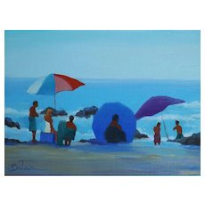 Laguna Beach Seascape Painting By LPAPA Signature Member Cynthia Britain