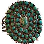 1920's Turquoise Bracelet