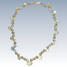 Labradorite Faceted Necklace