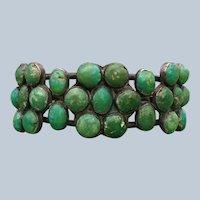 1930's Cerrillos Turquoise Bracelet