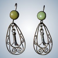 Vintage Petite Squash Blossom Earrings