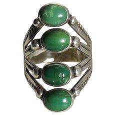 Fred Harvey Era Turquoise Ring