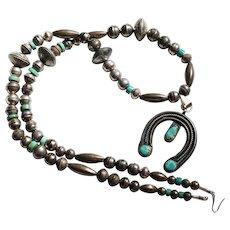 Vintage Naja and Mercury Dime Necklace