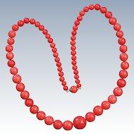 Victorian Coral Necklace