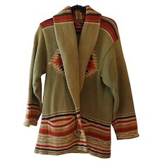 Ralph Lauren Hand Knit Southwest Style Sweater - Red Tag Sale Item