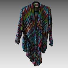 Laise Adzer Vintage Tie-Dye Shirt