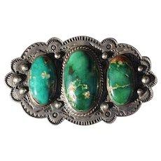 Vintage Turquoise Brooch