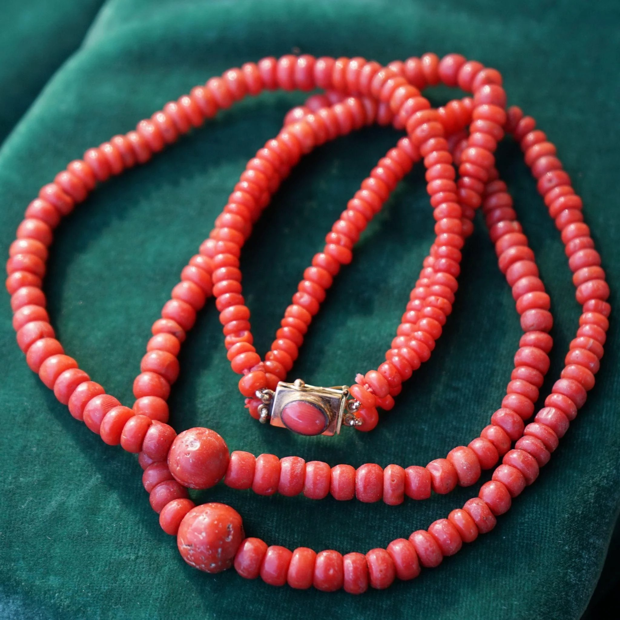 bead clasp antique click to full item trade with mediterranean necklace expand gtrtbn coral
