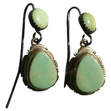 Vintage Navajo Royston Turquoise Earrings