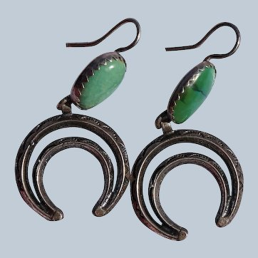 Vintage Naja Navajo Earrings