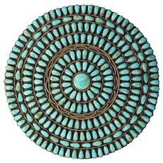 Large Navajo Manta Pin Or Pendant