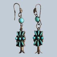 Vintage Zuni Earrings