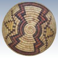 Hopi Coil Basket 1940's