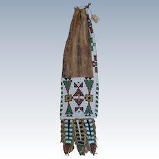 Northern Cheyenne Beaded Pipe Bag