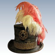 Omaha Ceremonial Wedding Hat