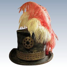 Omaha Ceremonial Wedding Hat