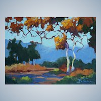Laguna Canyon Painting By LPAPA Signature Member Cynthia Britain