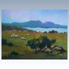 Plein Air Carmel Landscape By LPAPA Signature Member Cynthia Britain