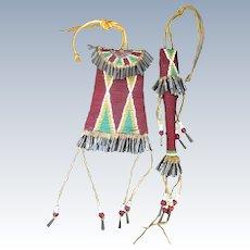 Kiowa Strike-a-Lite Bag and Matching Awl Case
