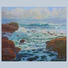 Seascape Painting By Rachel Uchizono