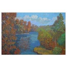 Roanoke River Walk by Rachel Uchizono