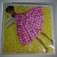 Hong Kong Lilli outfit by Debbie Toy Co. 1960's Mint On Card!