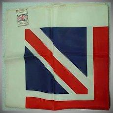 "Funky ""Carnaby Street"" Union Jack Scarf, Super Rare..."