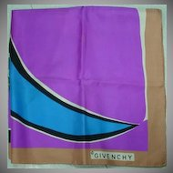 Givenchy, Color Splash Scarf from Saks Fifth Avenue....