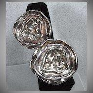 Bold, Sliver 925, Clip on Earrings…