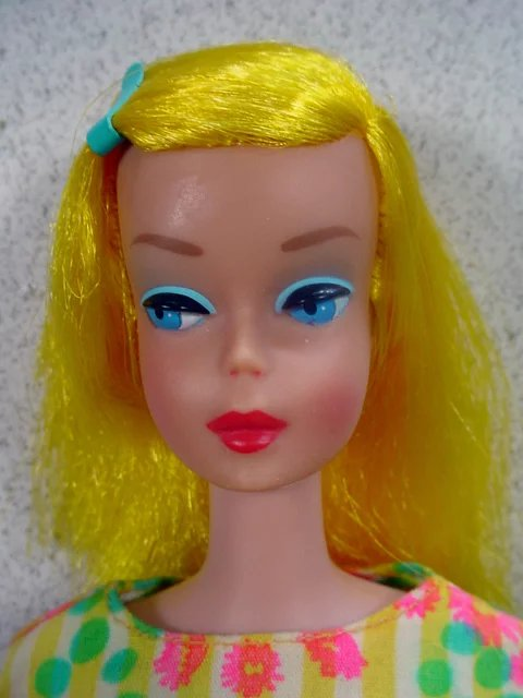 Blond Color Magic Barbie In Fashion Fun Outfit Mattel 1966 Fourty Fifty Sixty Ruby Lane