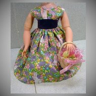 Easter Ensemble Made for Madame Alexander Elise Doll, 1990's