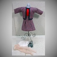 Madame Alexander Cissette Size Suit with Accessories.