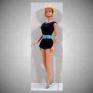 Platinum Blond American Girl Barbie, Mattel 1965