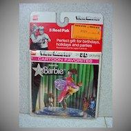 MIP View Master SuperStar Barbie Set, 1978, GAF