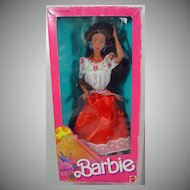 NRFB Mattel Mexican Barbie 1988!