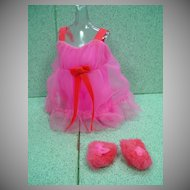 Vintage Mattel Barbie Outfit, Baby Doll Pinks, 1971, Complete!